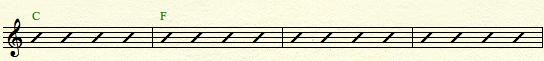 C major - 2 chords2