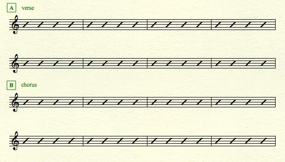verse-chorus