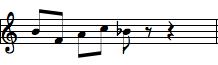 rhythm chunk melody