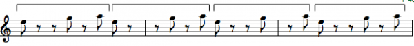 rhythm chunk with brackets riff