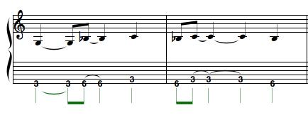 rhythmic riff 1