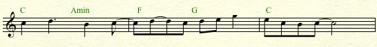2 bar phrase extended