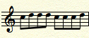 sop melody,2 changes