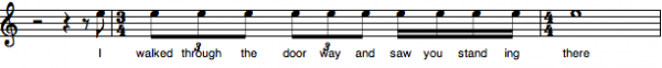 3:4 lyric