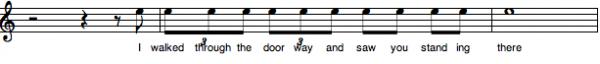 4:4 lyric