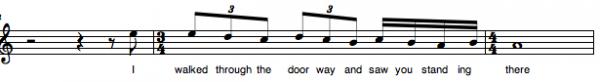 melody 3:4