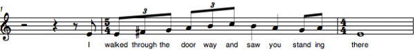 melody 5:4